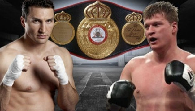Klitschko, Povetkin must agree on fight until June 7 - 31.05.2013 12:30 - Ukrinform News