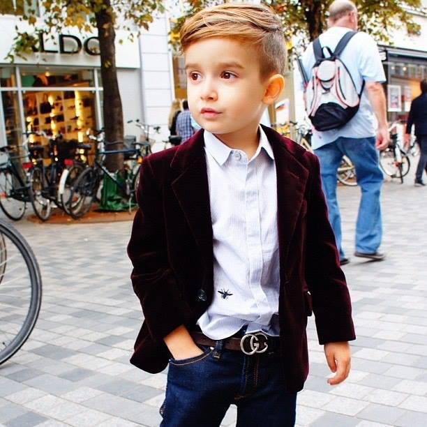 Стильный дети мальчик фото