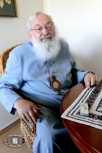 Архієпископ-емерит Української греко-католицької церкви Блаженійший Любомир (Гузар)