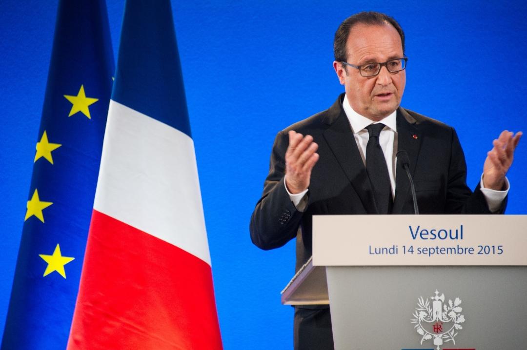 Франсуа Олланд. Фото: AFP