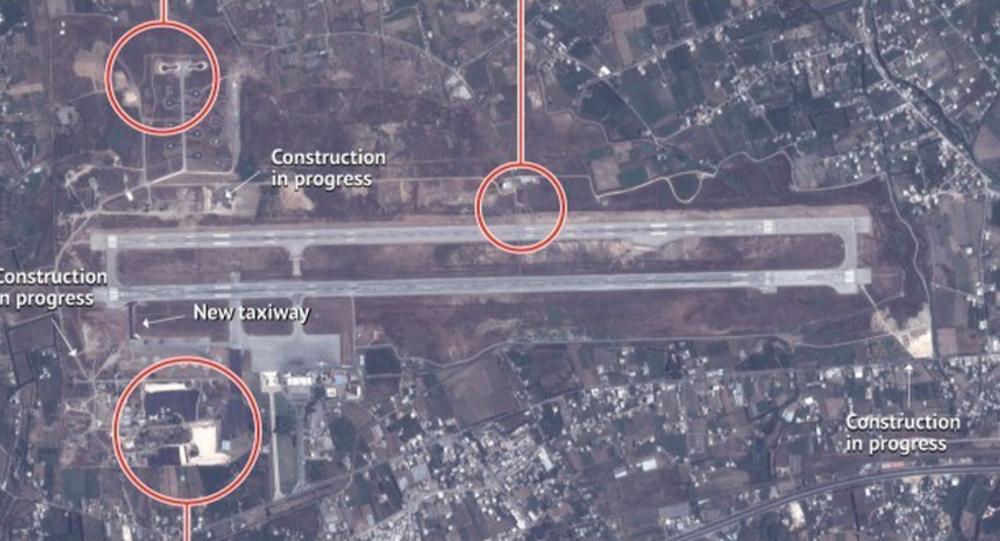 Снимки российской базы в Сирии