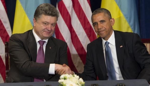 У Порошенко сегодня - рабочий обед с Обамой и встреча с Байденом