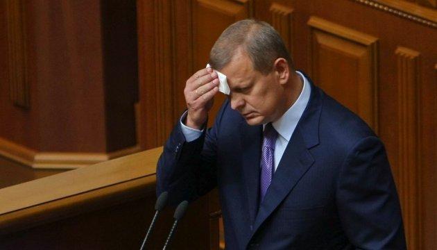 Рада дала согласие на арест Клюева