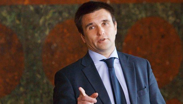 Клімкін: Кожну зустріч у Мюнхені починатиму з Криму