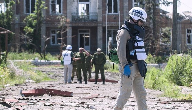 Militants in Donbas prepare provocation against OSCE mission – intelligence