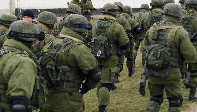 В армії РФ - раптова перевірка: марширують і борються з терористами