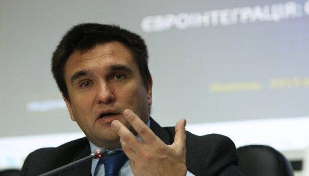 Климкин: Нормандский формат - возможность не дать РФ уйти от выполнения Минска
