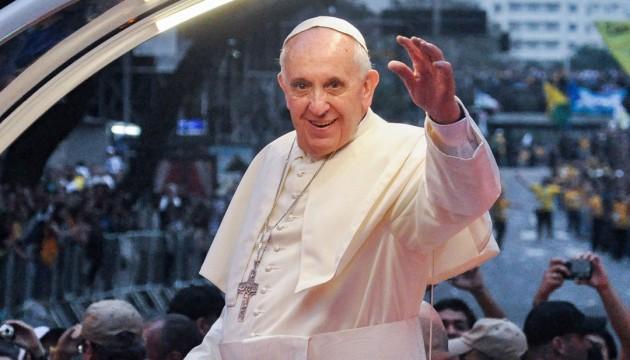 Папа Римський вперше з'явиться в кіно