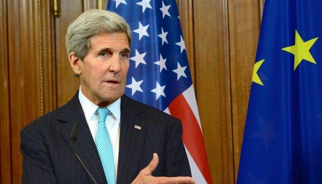 США та ЄС залишаться єдиними щодо санкцій проти Росії - Керрі