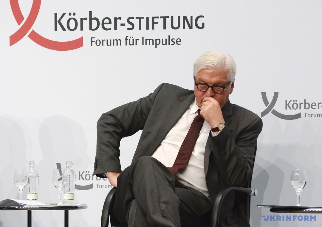 Міністр закордонних справ Франк-Вальтер Штайнмаєр