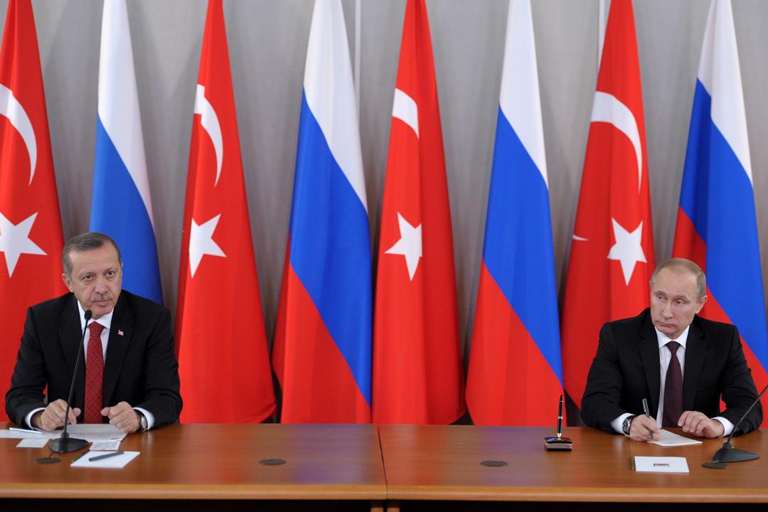 Ердоган, Путін