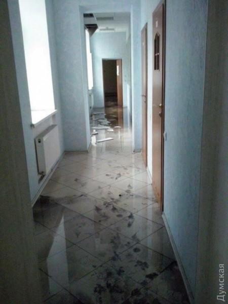 пожар в волонтерском центре фото: Фейсбук