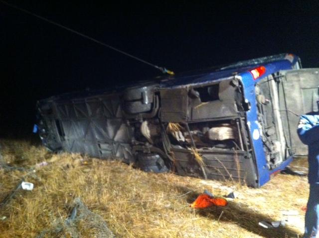 Усмертельній ДТП завтобусом Москва— Донецьк постраждали 11 українців