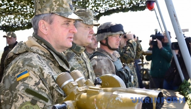 Муженко: учения в России показали слабое место агрессора