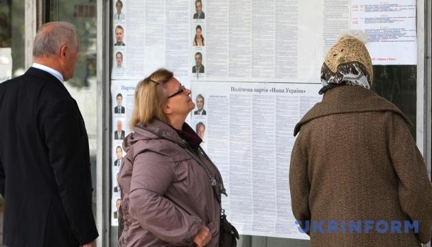 ЦВК назвала партії, які візьмуть участь у місцевих виборах 27 березня