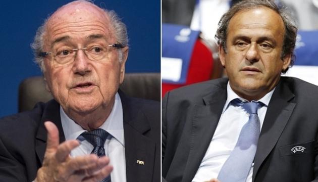 Блаттера и Платини могут отстранить от футбола на шесть лет