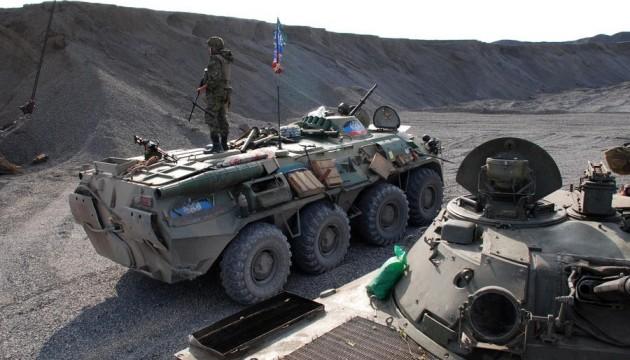 АТО: російські найманці вели інтенсивний вогонь в районі Мар'янки