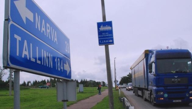 Эстония начала обустраивать границу с Россией