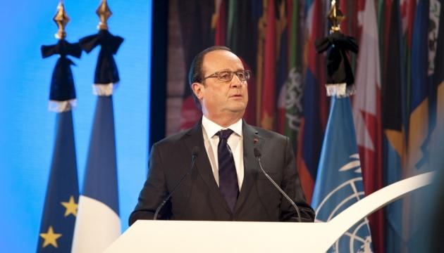 Олланд з трибуни ООН пообіцяв зробити усе можливе для миру в Україні