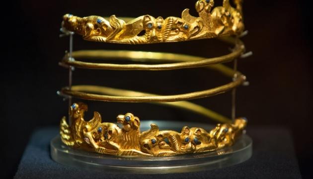 Сподачи прокуратуры наложен арест на«Скифское золото»