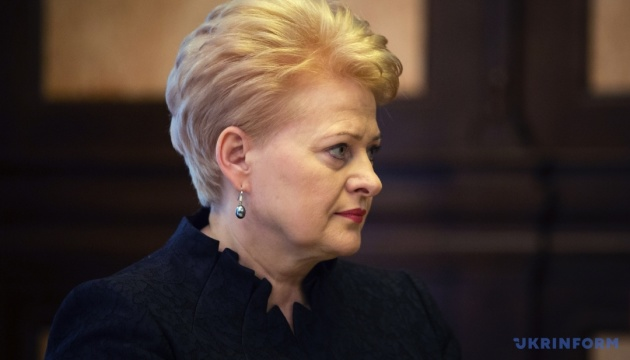 Грибаускайте о референдуме: Евроинтеграция Украины может занять больше времени