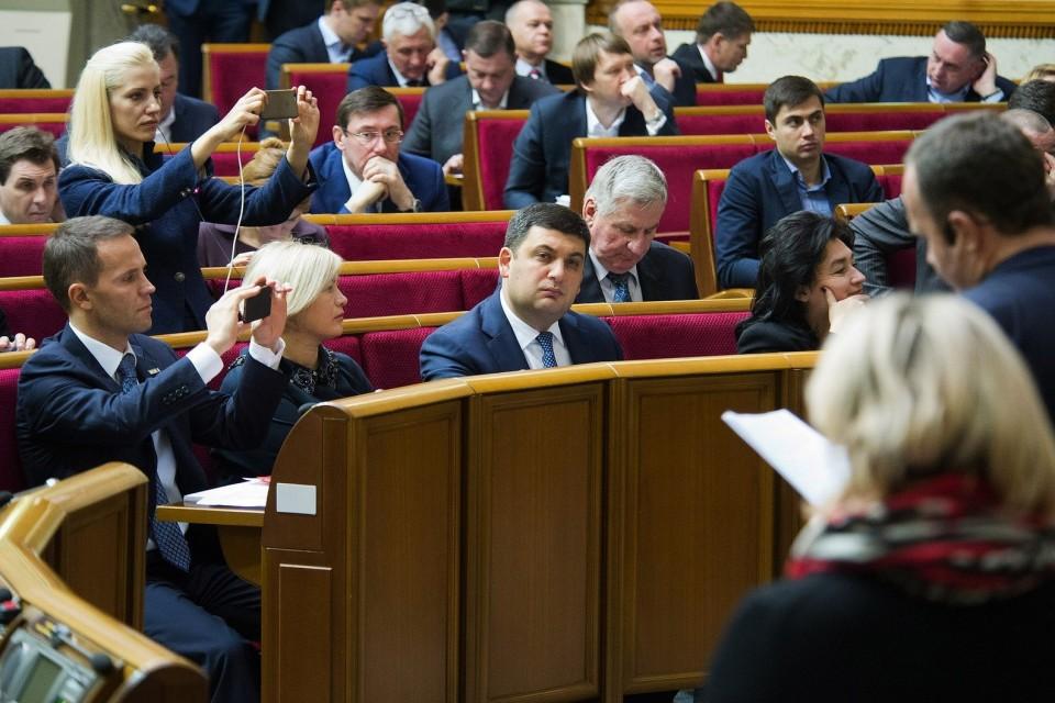 Депутати просто в Раді поставили п'єсу проти насильства над жінками / фото: Анастасія Сироткіна