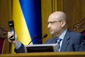 Turtschynow: Beweise für russische Aggression gegen Ukraine kann man auf Website des Kremls finden