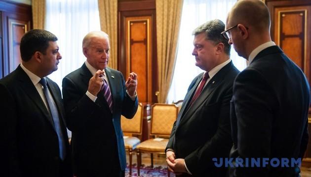 Порошенко і Байден обговорили Майдан, Верховну Раду і тиск на Росію