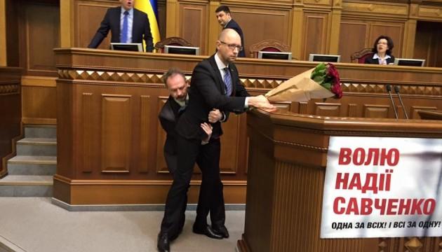 Яценюк про звіт уряду в Раді: У нашому парламенті можливо усе