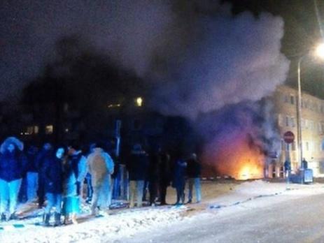 УСтокгольмі підірвали бомбу вжитловому будинку