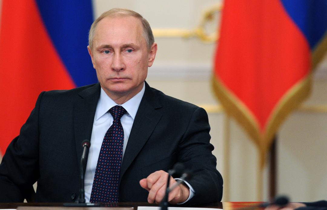 На фото: президент Росії Володимир Путін
