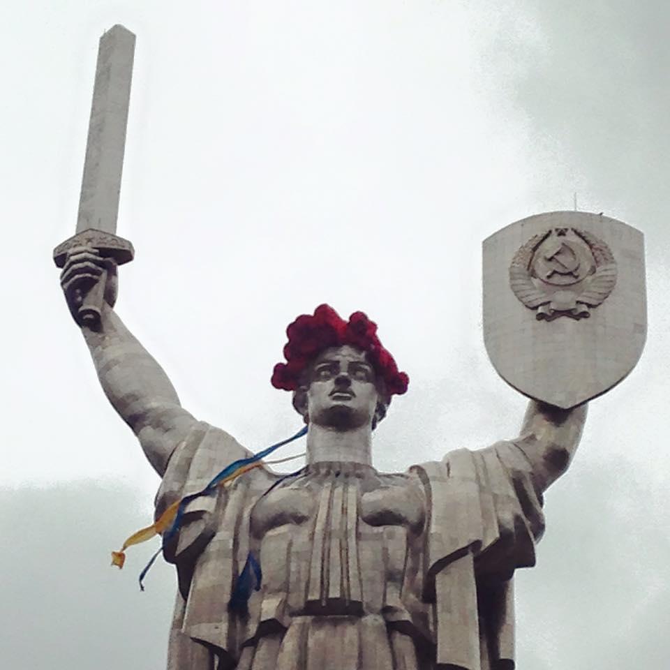 З «Батьківщини-матері» знімуть герб СРСР— В'ятрович
