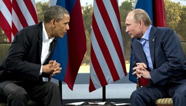 Путин в общении с Обамой как обычно