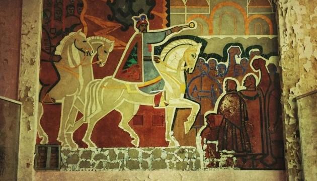 Кириленко доручив зберегти розписи Річкового вокзалу