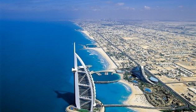 Емірати побудують новий туристичний комплекс