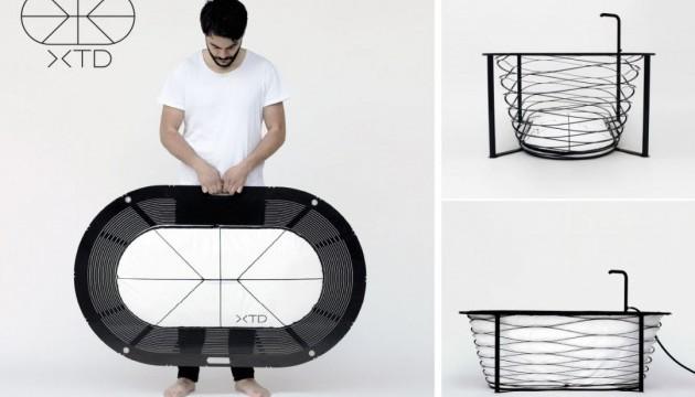 XTEND - портативна ванна на всі випадки життя