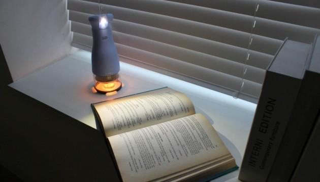 Американці придумали світлодіодну лампу, яка працює від палаючої свічки