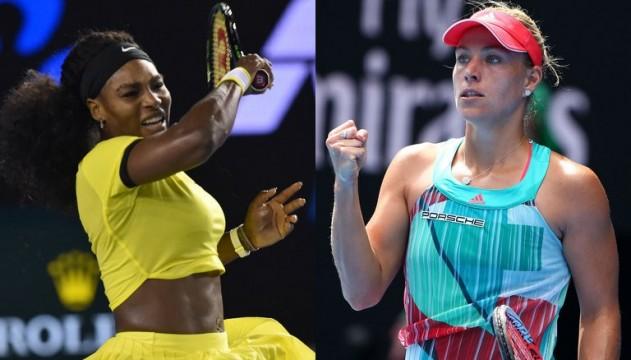 Australian Open. Анжеліка Кербер відібрала титул у Серени Вільямс