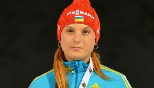 Українська біатлоністка виграла другу медаль на юніорському чемпіонаті світу
