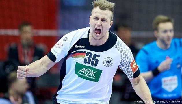 Збірна Німеччини через 12 років виграла чемпіонат Європи з гандболу