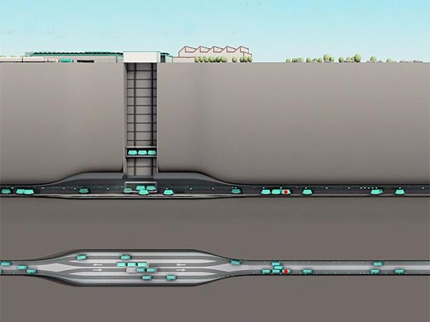 У Швейцарії побудують підземну автоматичну вантажну транспортну систему