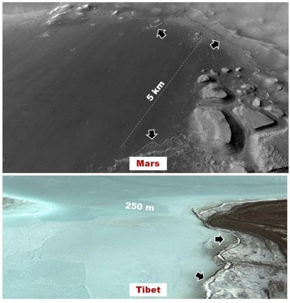 Палеонтологи знайшли на Марсі потенційно населені озера
