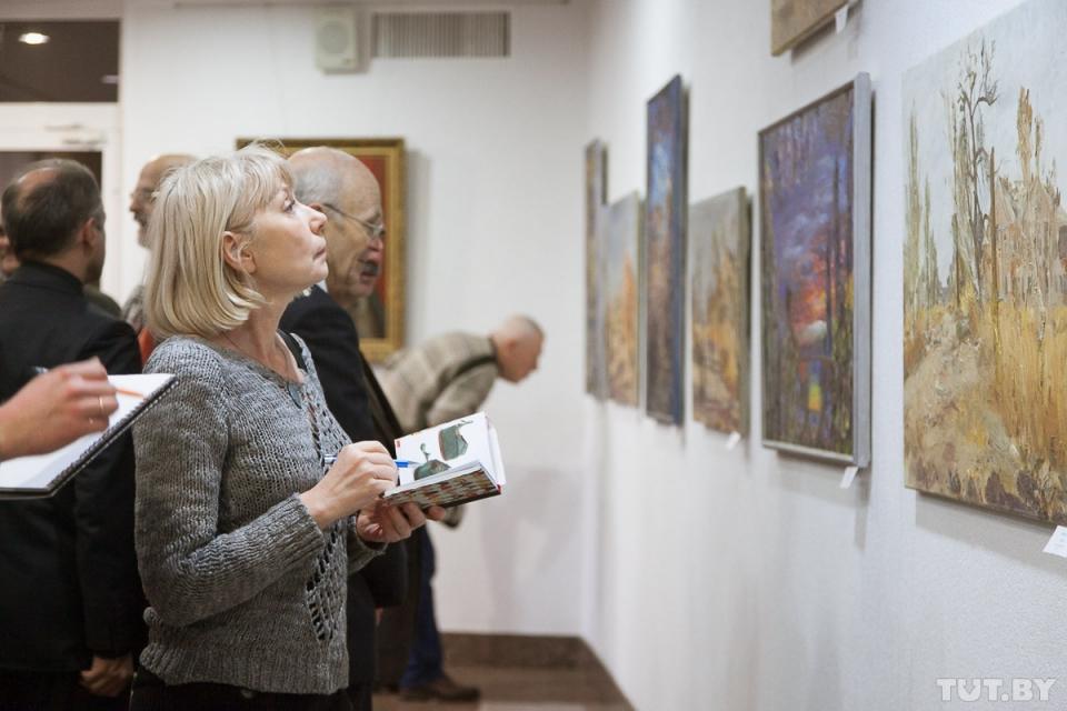 У Мінську експонували роботи з АТО українських і білоруських художників