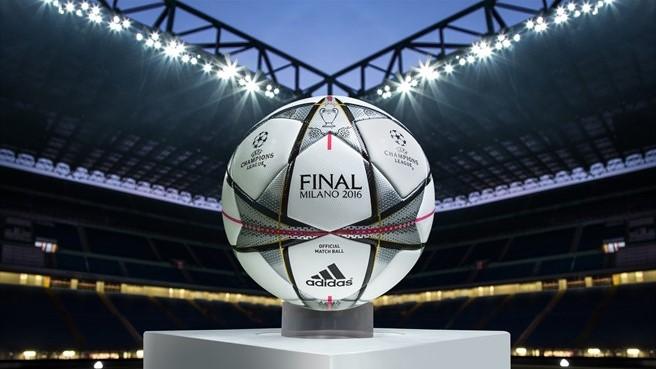 Finale Milano: представлено офіційний м'яч Ліги чемпіонів УЄФА