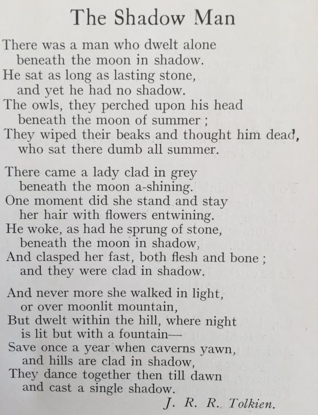 В Англії знайшли невідомі вірші Толкієна
