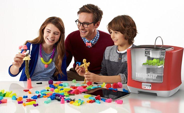 Компанія Mattel представила 3D-принтер для дитячих іграшок