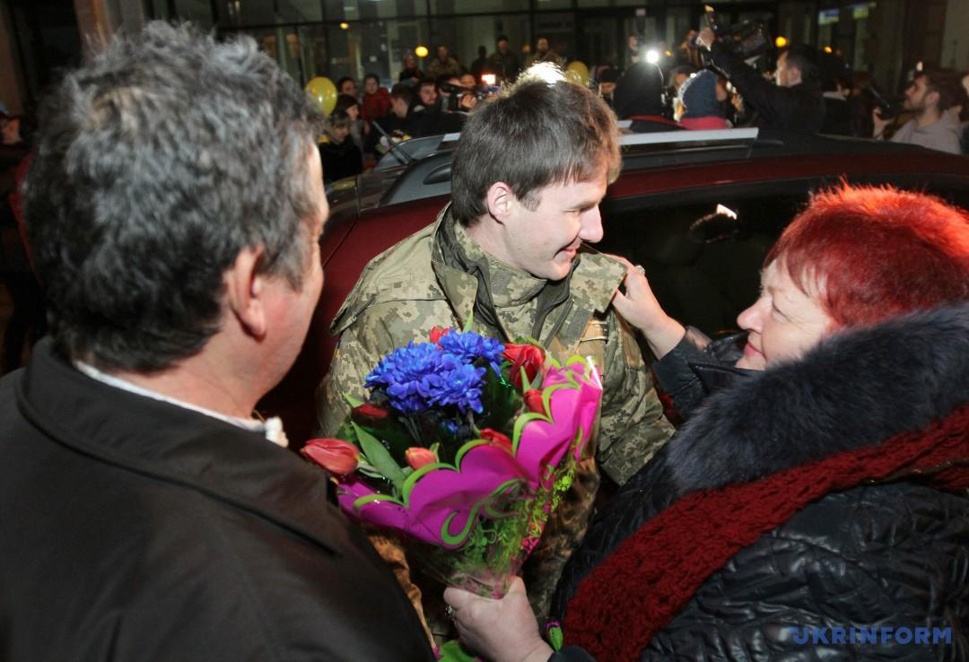 Вадим Кирпиченко з мамою Надією Леонідівною