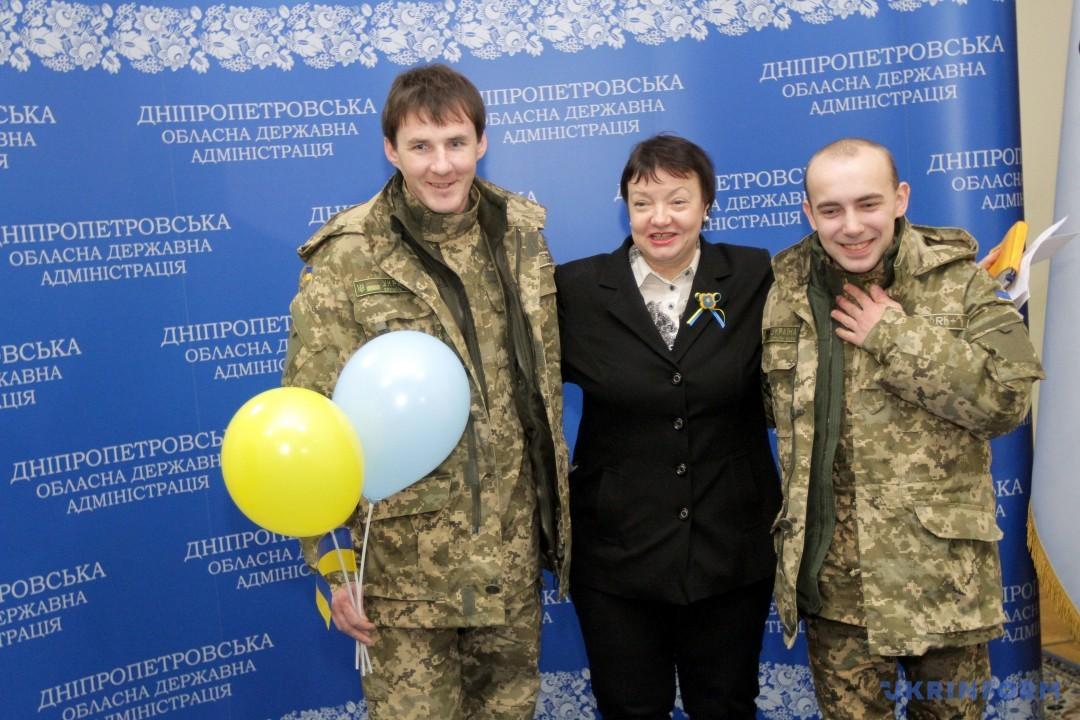 Вадим Кирпиченко (ліворуч) та Олександр Макух (праворуч)