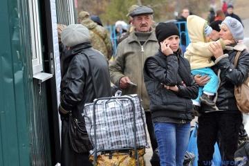 Мінсоцполітики каже про скорочення кількості переселенців у червні