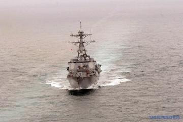 Корабель США відкрив вогонь при наближенні іранського катери